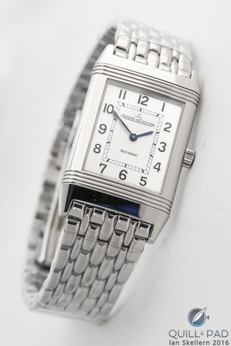 Jaeger-LeCoultre Reverso Classique in stainless steel