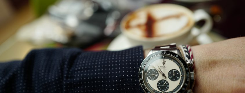 Rolex Oyster Cosmograph Paul Newman Daytona Reference 6263 from about 1970 at the July 2 Watches of Knightsbridge auction