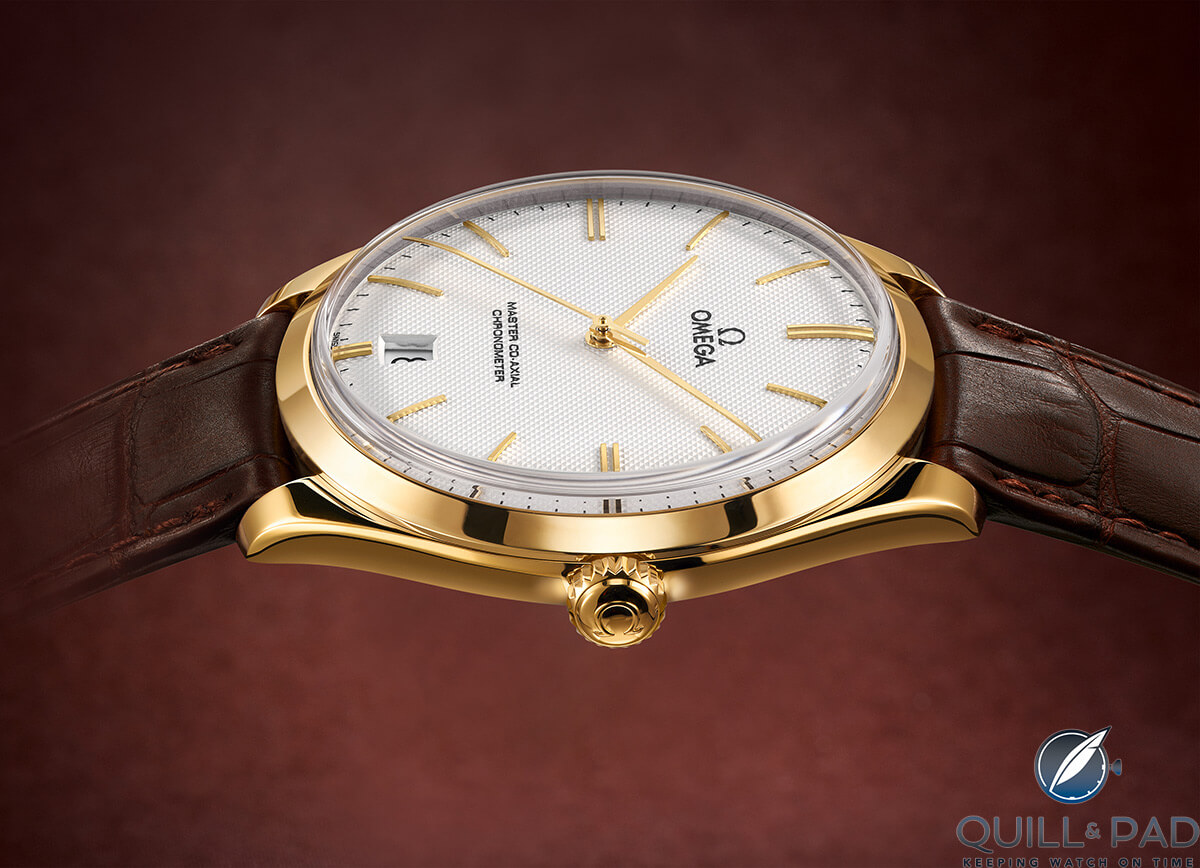 The Omega De Ville Tresor from 2014: a pure, modern De Ville design