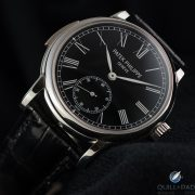 Oblique view, Patek Philippe Reference 5078P