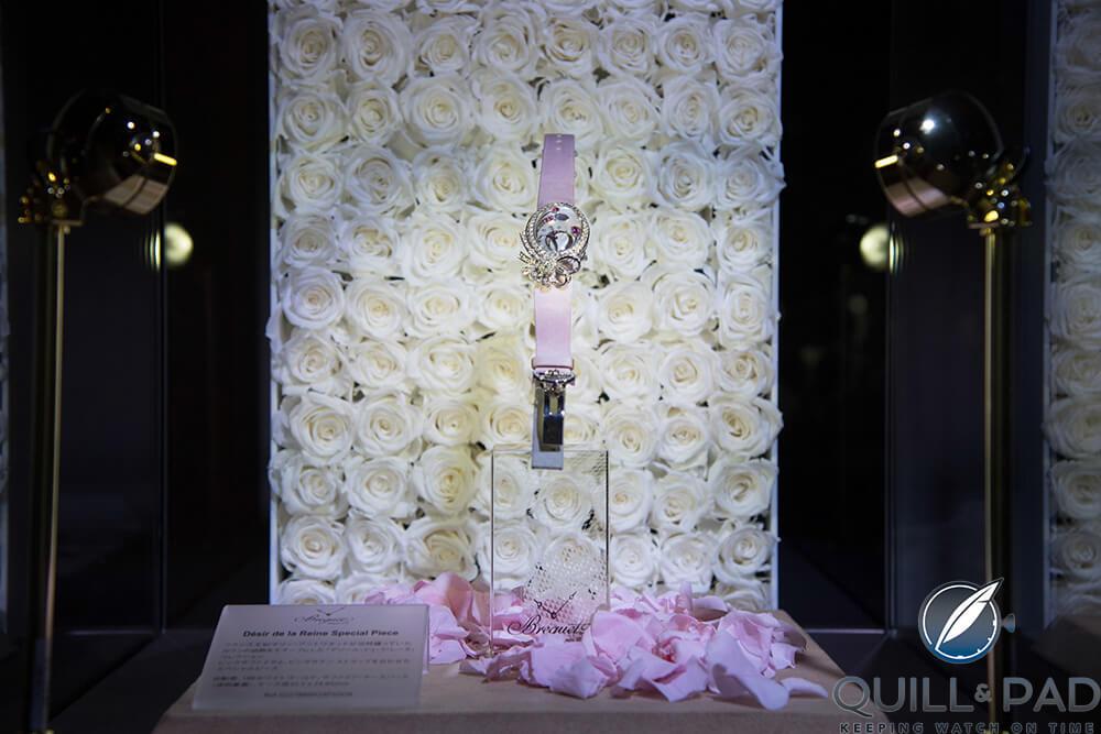 """Breguet Désir de la Reine Haute Joaillerie, a unique piece in honor of the """"Marie-Antoinette, a Queen in Versailles"""" exhibition at Mori Arts Center"""