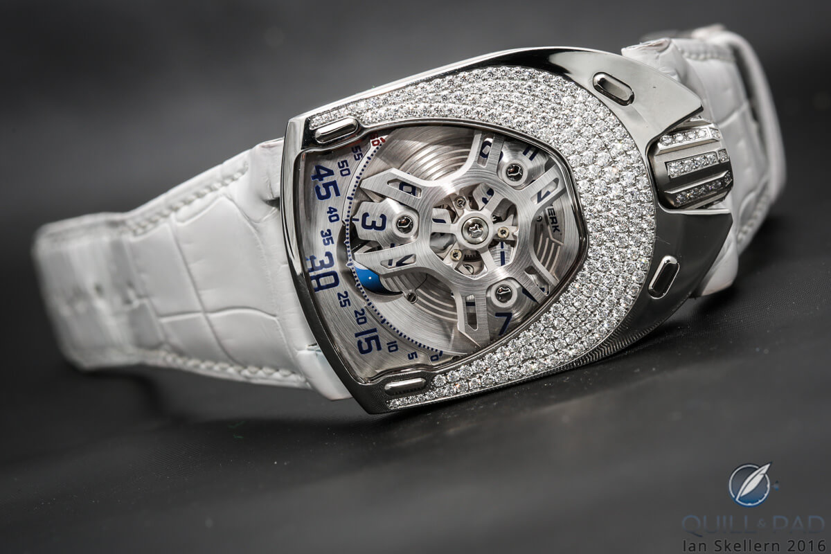 Urwerk UR-106 Lotus White