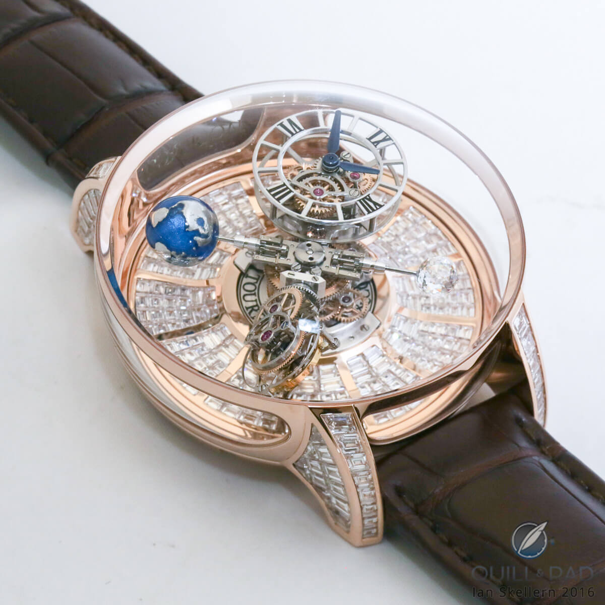 Jacob & Co Astronomia Baguette