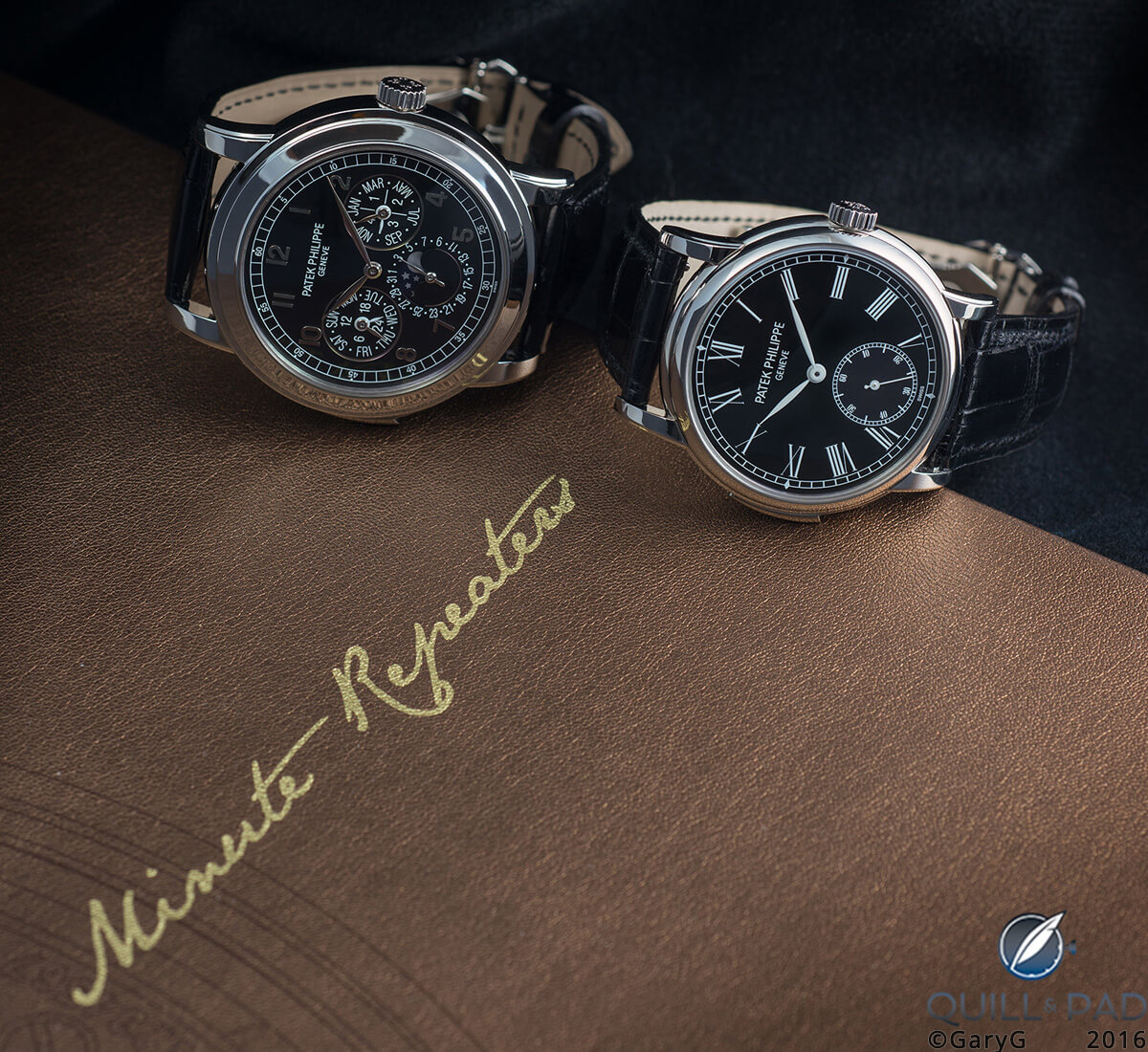 Part of a strong lineage: Patek Philippe 5074P and 5078P minute repeaters