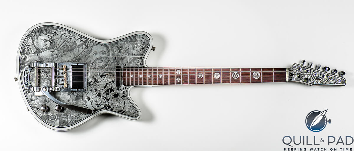 new-T Chronopassion guitar