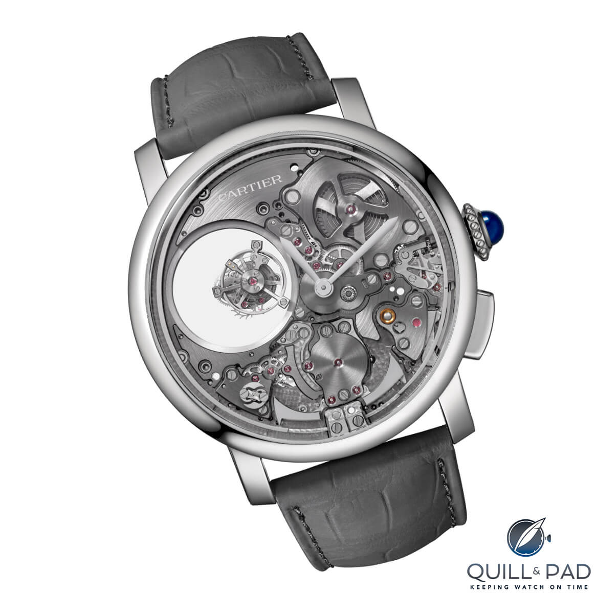 Cartier Rotonde de Cartier Minute Repeater Mysterious Double Tourbillon