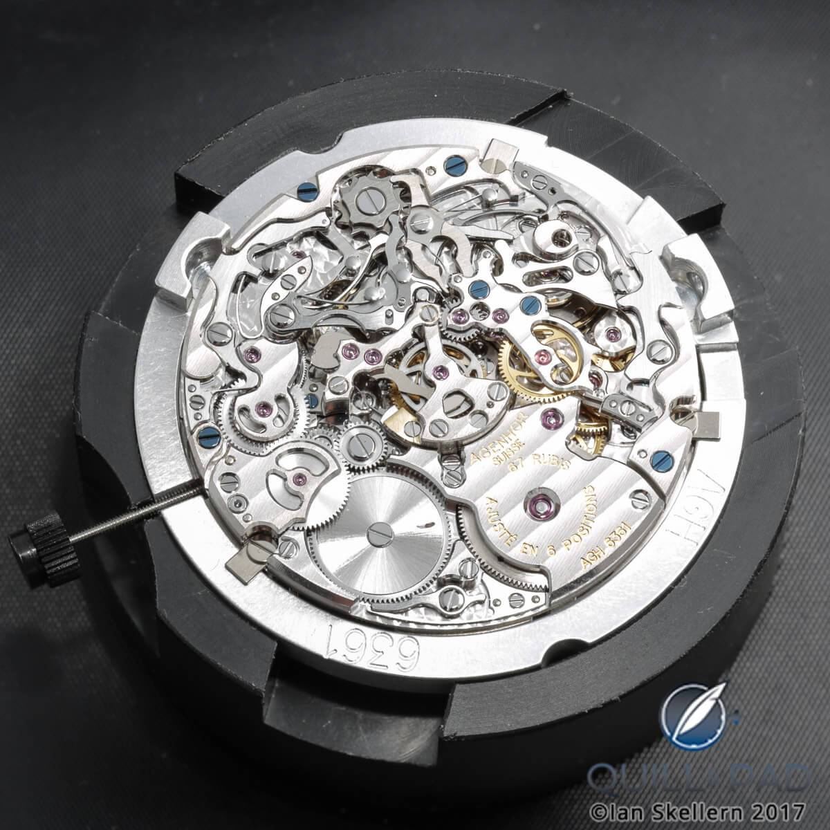 AgenGraphe automatic chronograph movement by Agenhor