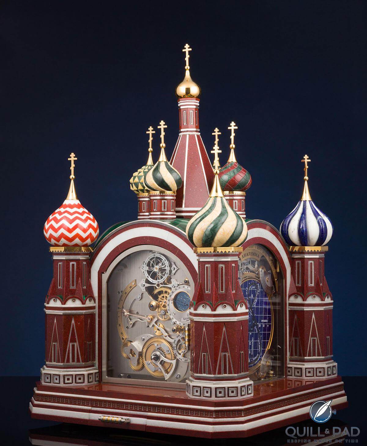 Konstantin Chaykin Moscow Comptus Clock