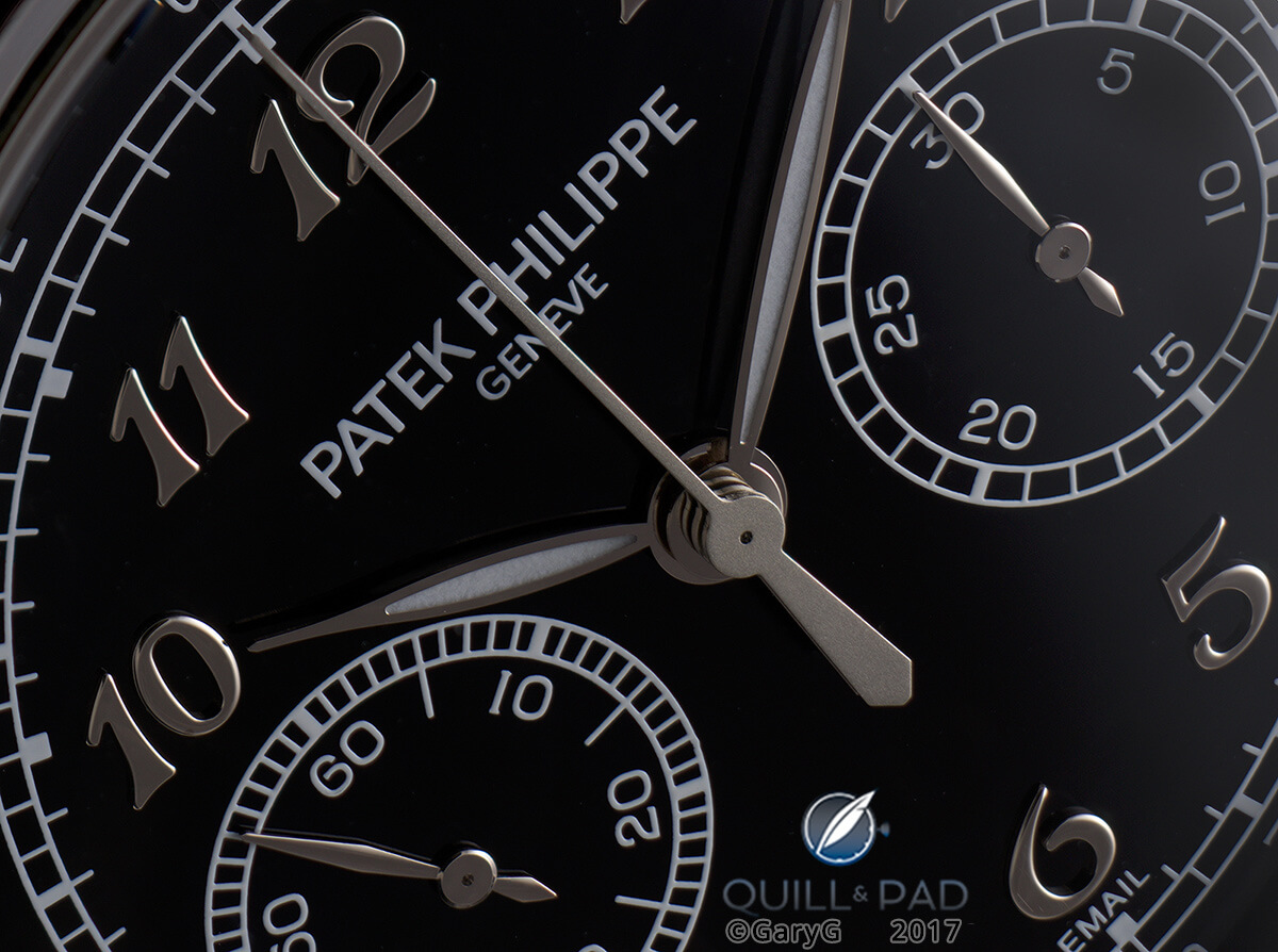 Dial detail, Patek Philippe Reference 5370P