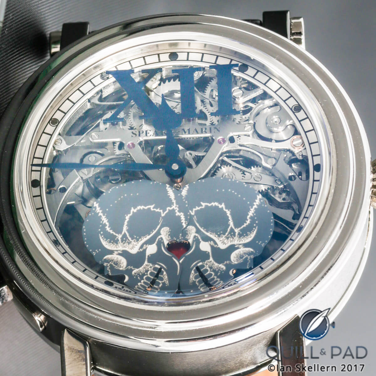 Speake-Marine Crazy Skulls minute repeater tourbillon