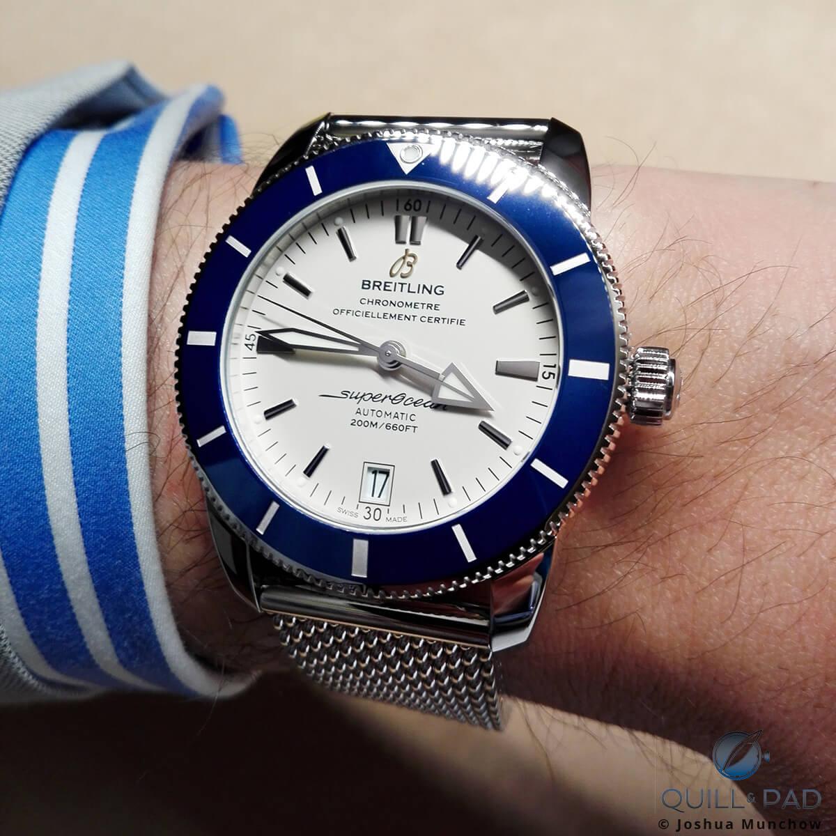 Breitling Superocean Heritage II wristshot