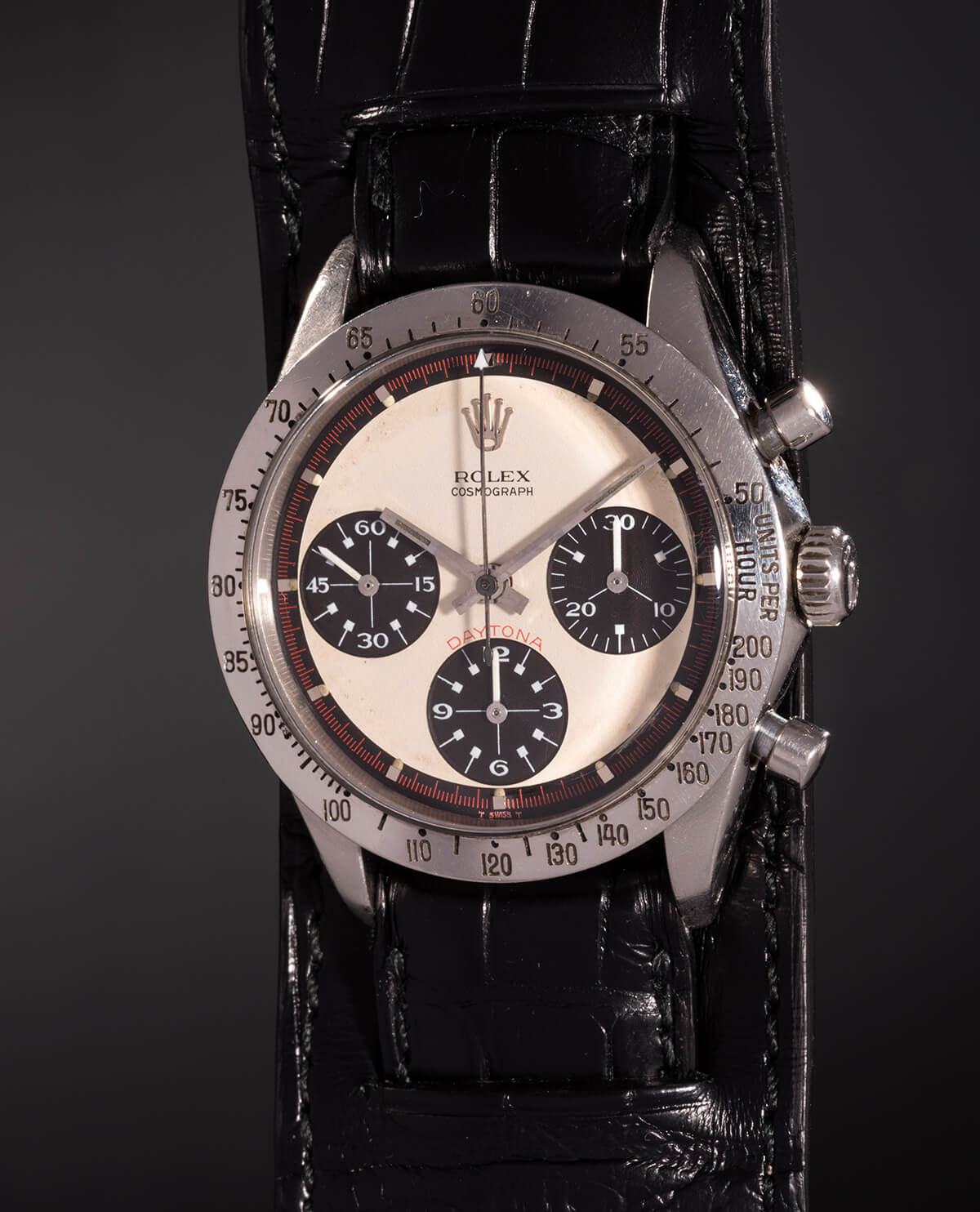 Paul Newman's personal Rolex Daytona (photo courtesy Phillips/Bacs and Russo)