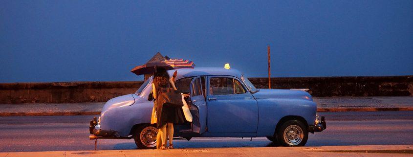 Customized circa 1953 Chevrolet in Havana, Cuba (photo courtesy George Cramer)