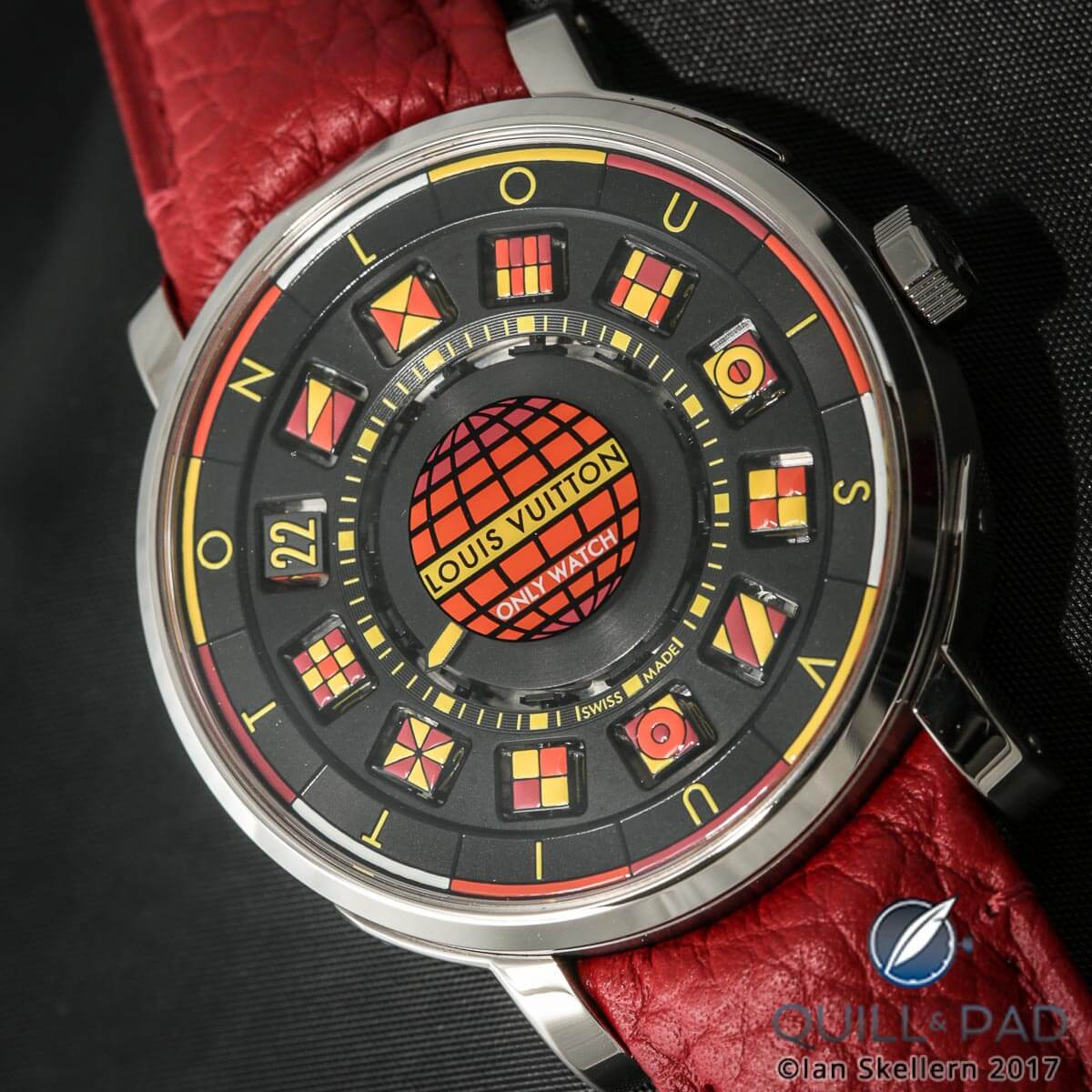 Louis Vuitton Escale Spin Time Black & Fire For Only Watch 2017