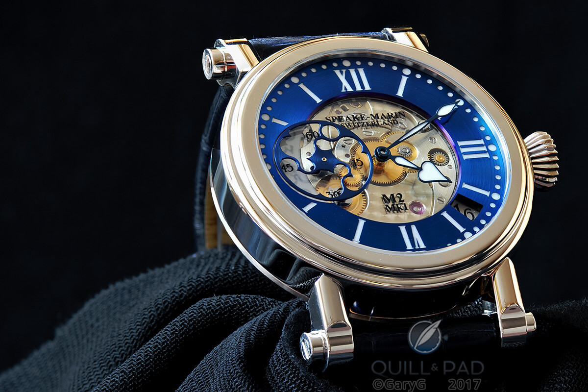Love is fickle: Speake-Marin Thalassa in white gold