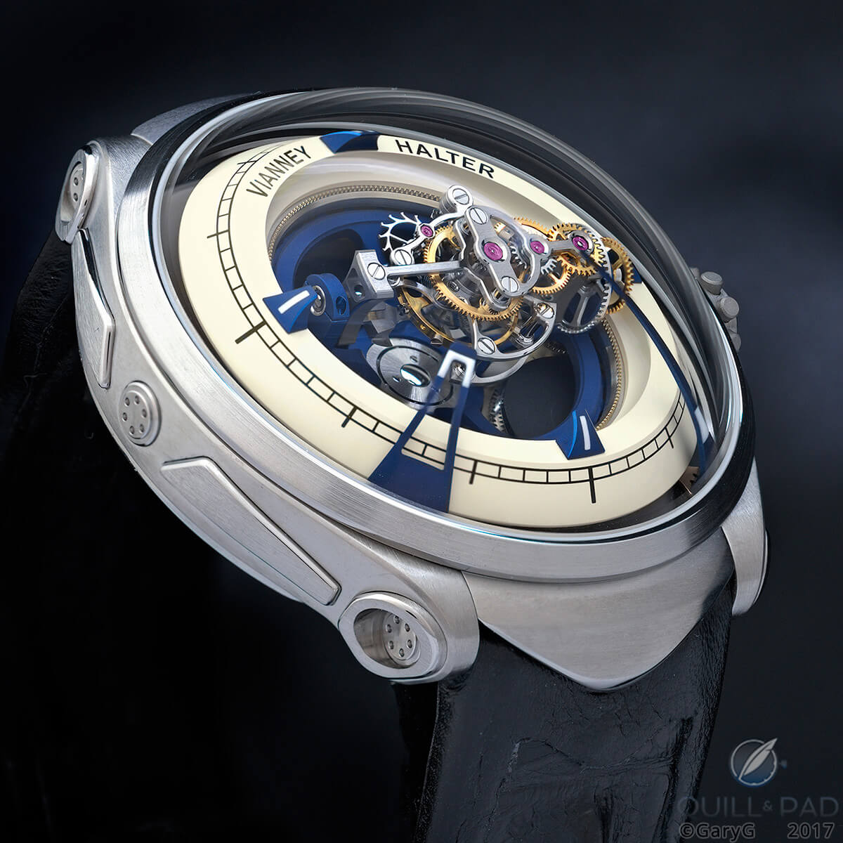 Don't be mad, Vianney: Deep Space Tourbillon by Vianney Halter