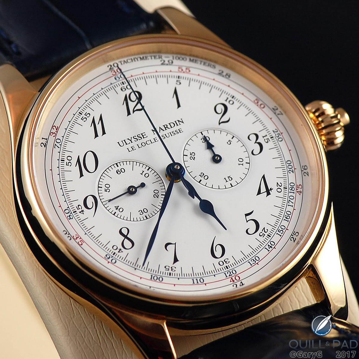 Gone but not forgotten: Ulysse Nardin Monopusher Chronograph