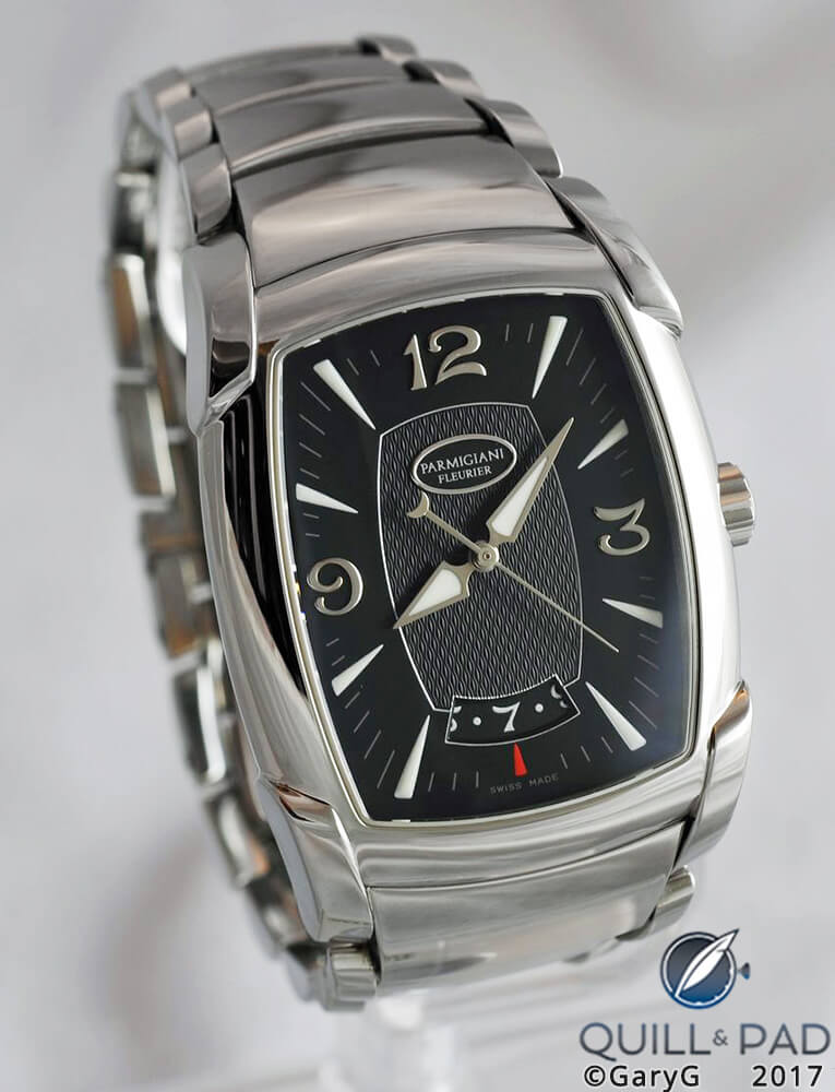 Early collecting days: Parmigiani Kalpa Stainless Steel