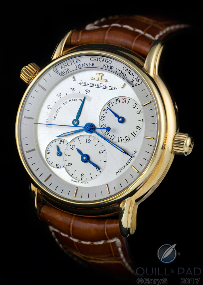 Jaeger-LeCoultre Géographique in yellow gold