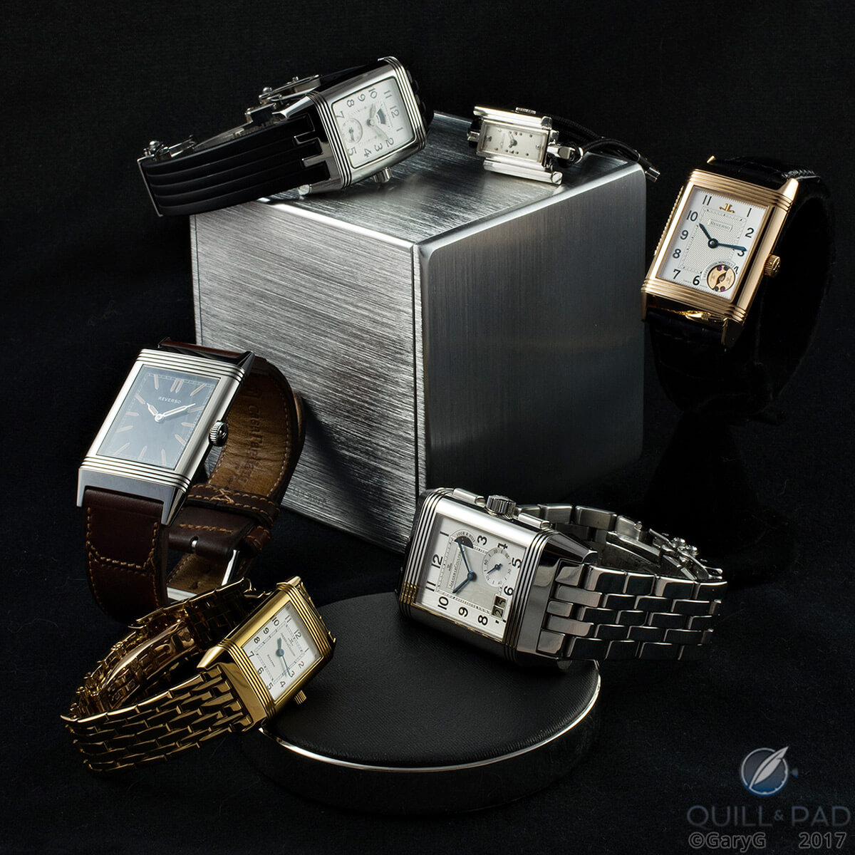 Hip to be square: shaped Jaeger-LeCoultre watches in the author's and his wife's collections