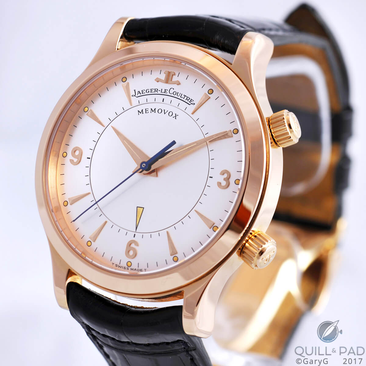 What was I thinking? Now-departed Jaeger-LeCoultre Memovox in pink gold