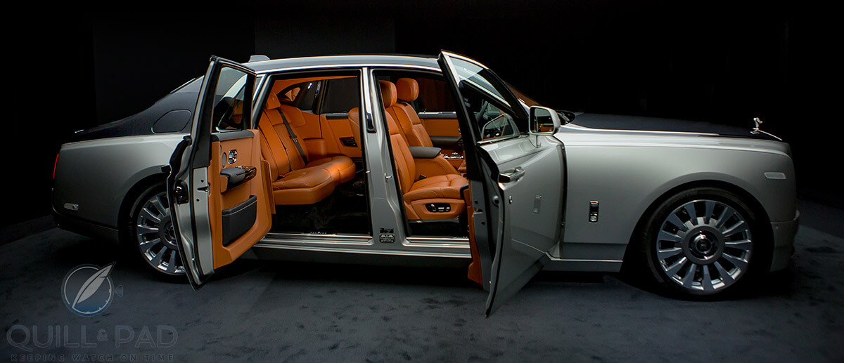 Rolls-Royce Phantom VIII interior