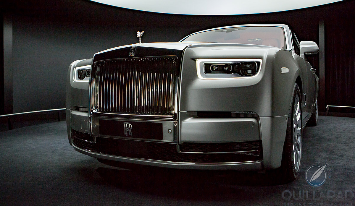 Rolls Royce Phantom VIII front