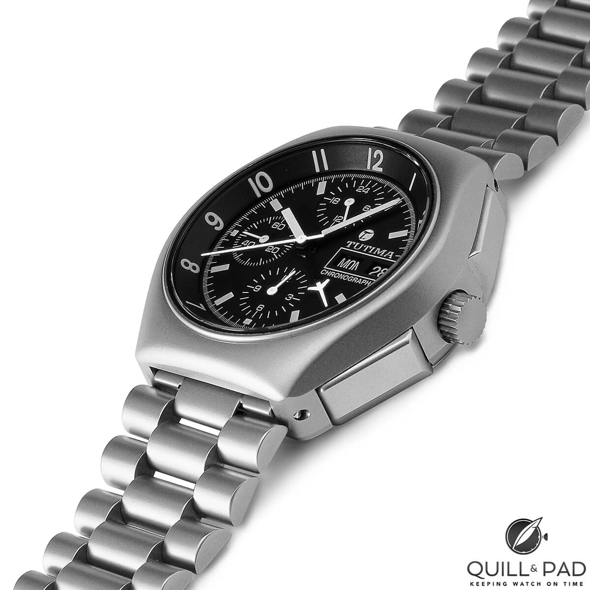 Tutima Reference 798-02 Military Chronograph