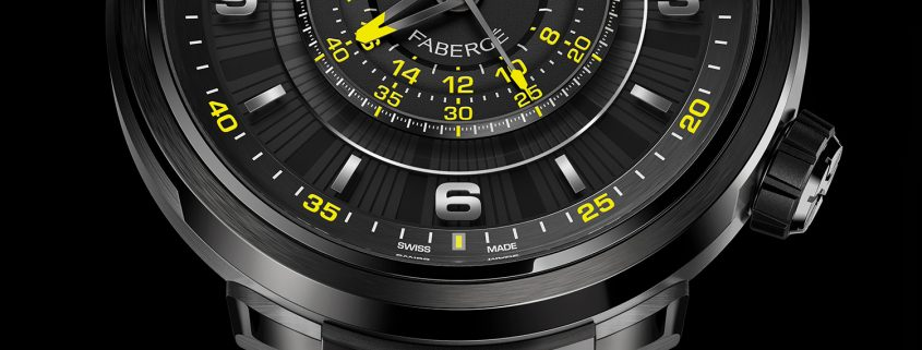 """Fabergé Visionnaire Chronograph """"If Life Gives You Lemons . . ."""" for Only Watch 2017"""
