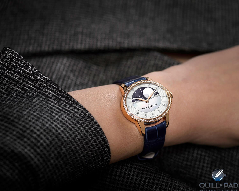 Girard-Perregaux Cat's Eye Celestial on the wrist