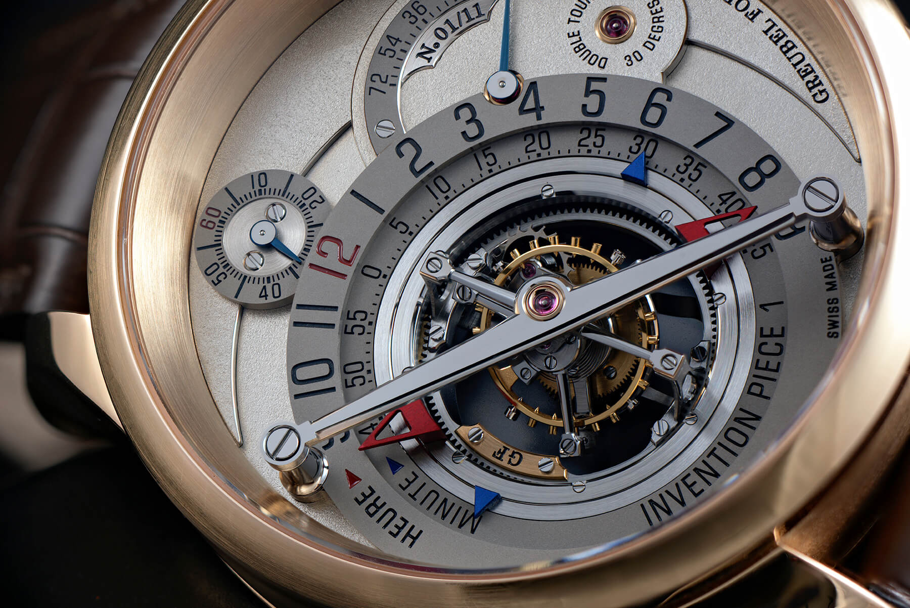 Early adopter of big-firm partnership: Greubel Forsey