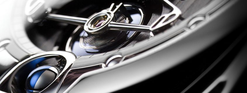De Bethune DB28 with silicon/platinum annular balance