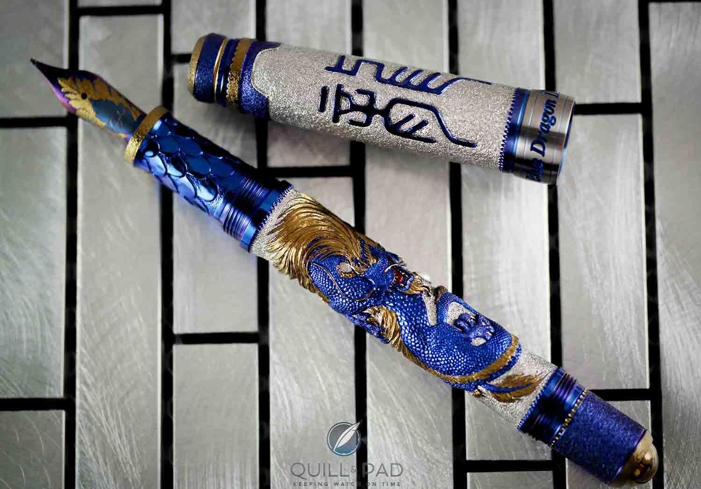 Grayson Tighe Blue Dragon