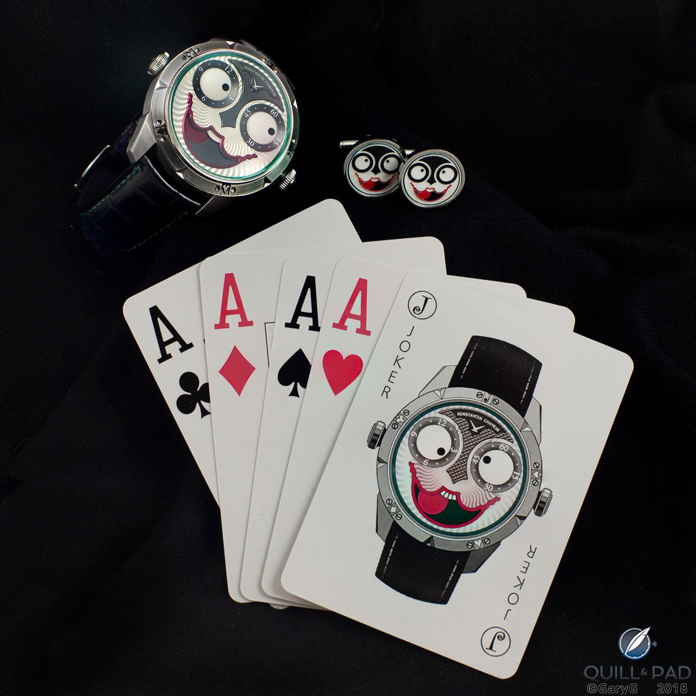Not just a watch, a way of life: Konstantin Chaykin Joker watch and accessories