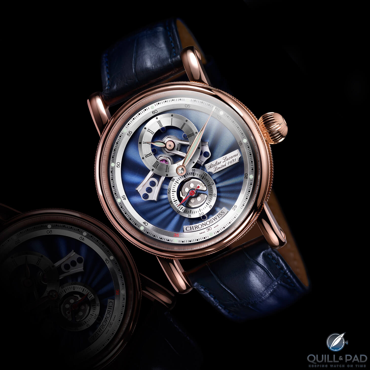 Chronoswiss Flying Regulator Open Gear Anniversary Edition