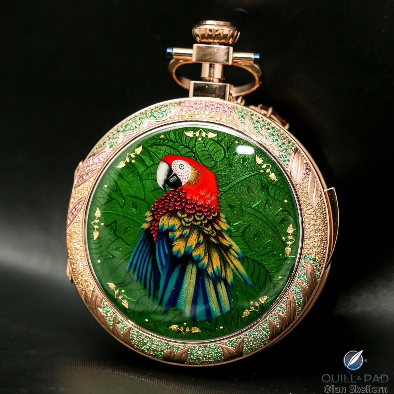 Jaquet Drop Parrot Repeater unique piece