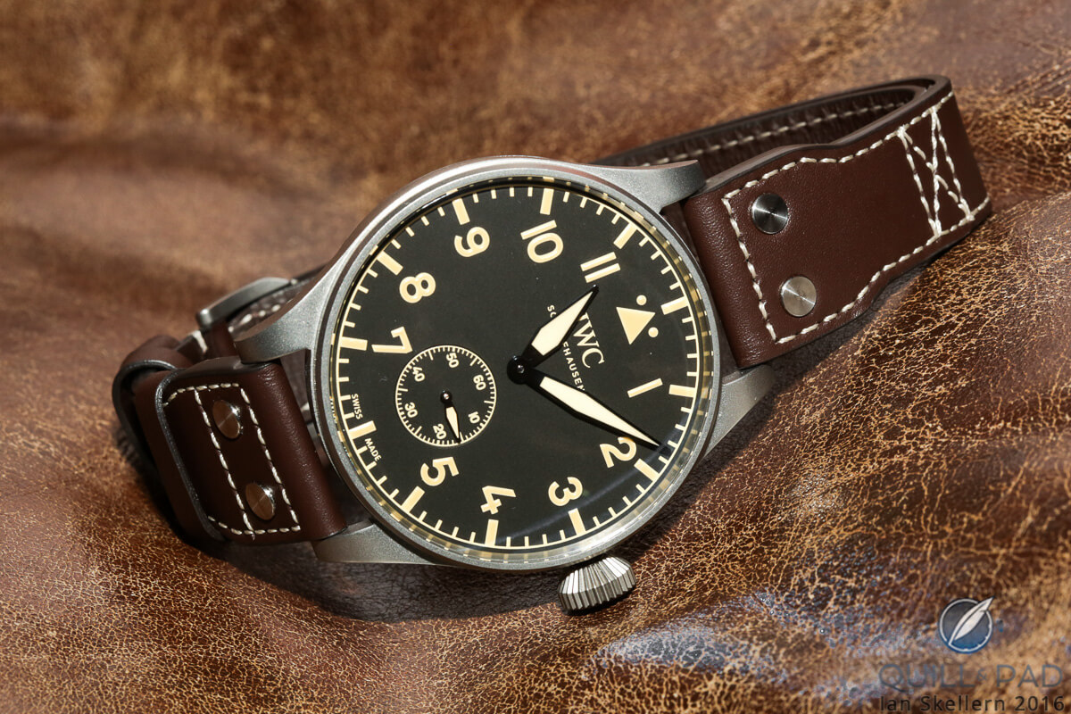 The IWC Big Pilot Heritage of 2016