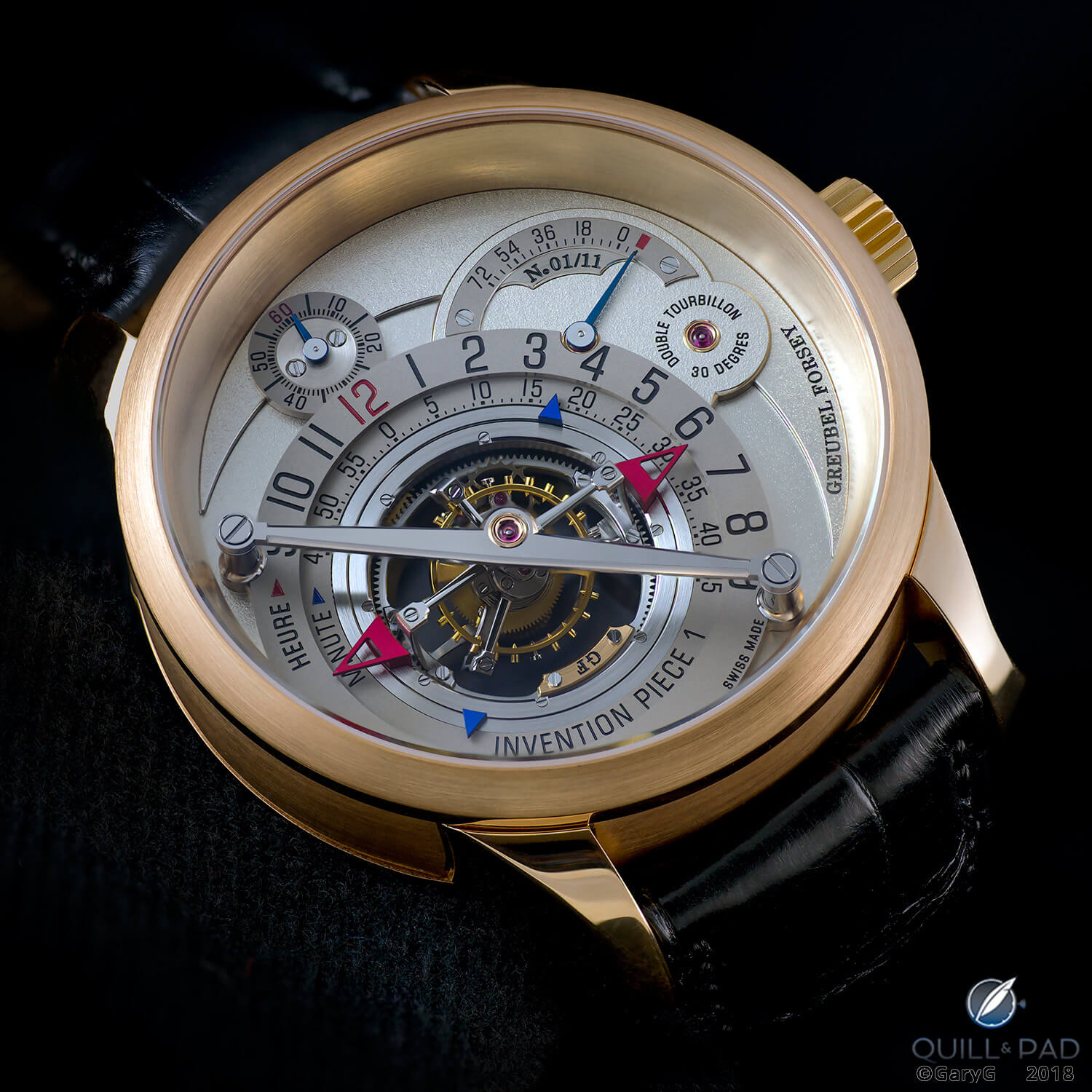 Keep it up your sleeve: Invention Piece 1 from Greubel Forsey