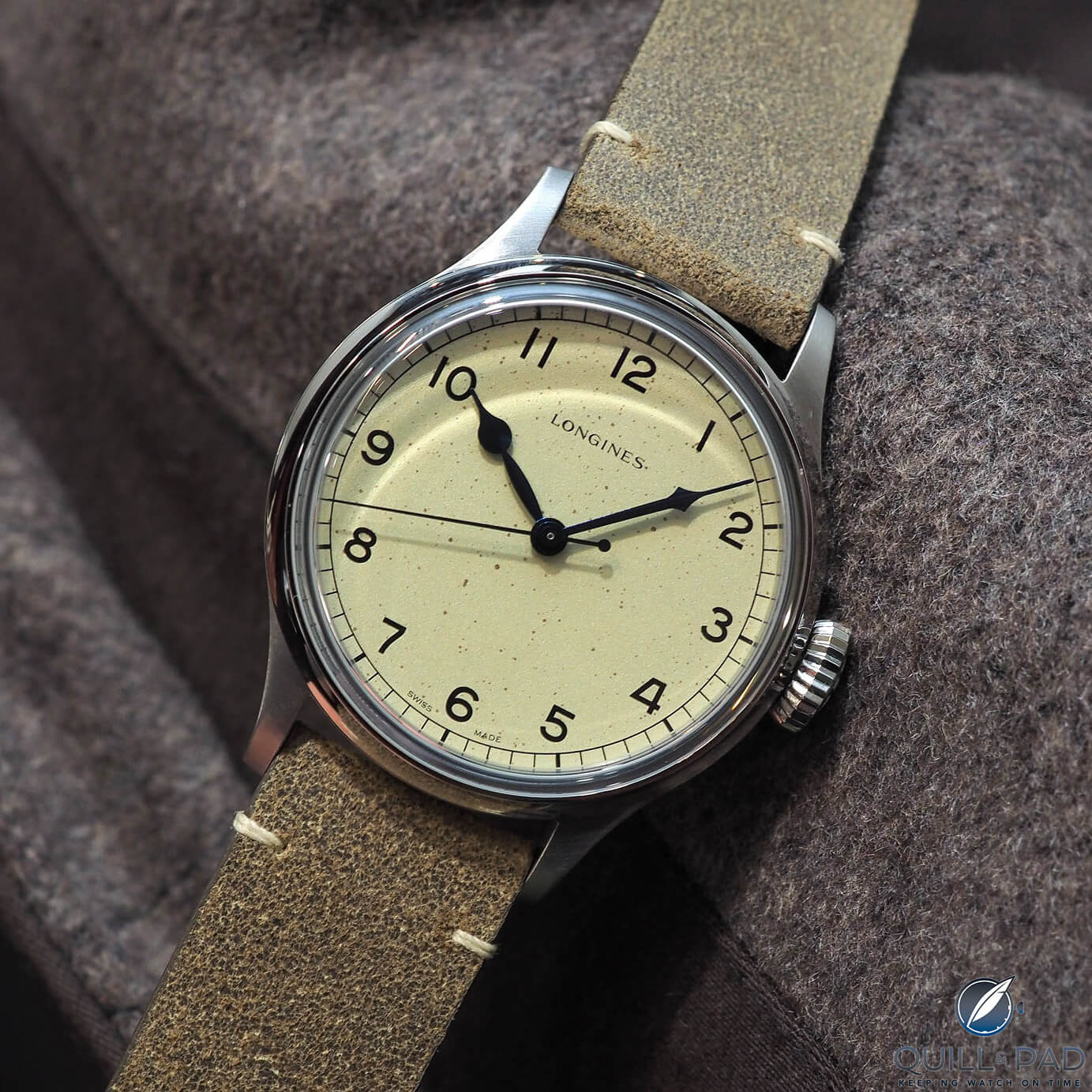 Longines Heritage Military (photo courtesy Dr. Magnus Bosse)