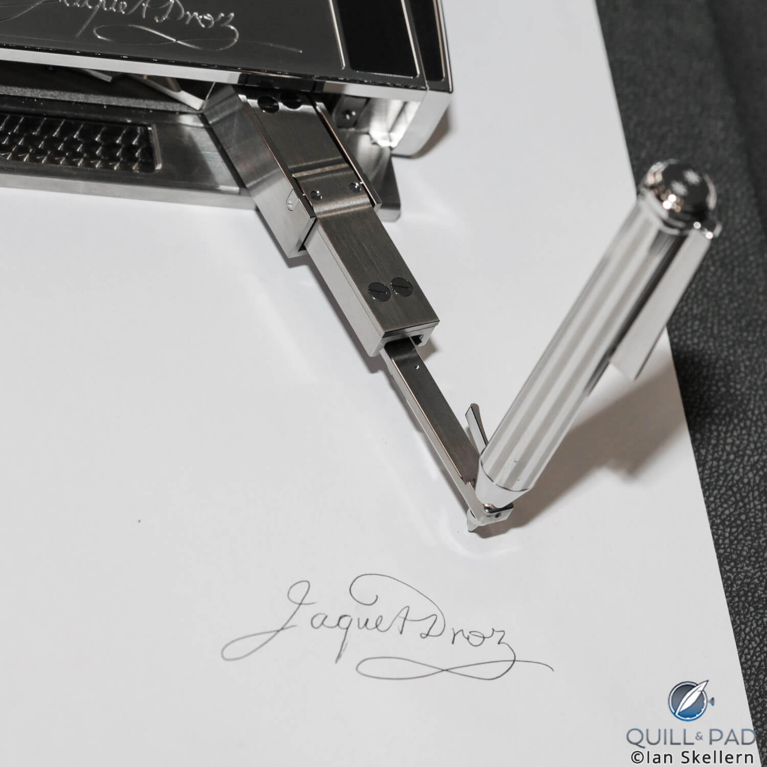 Stylus of the Jaquet Droz Signing Machine