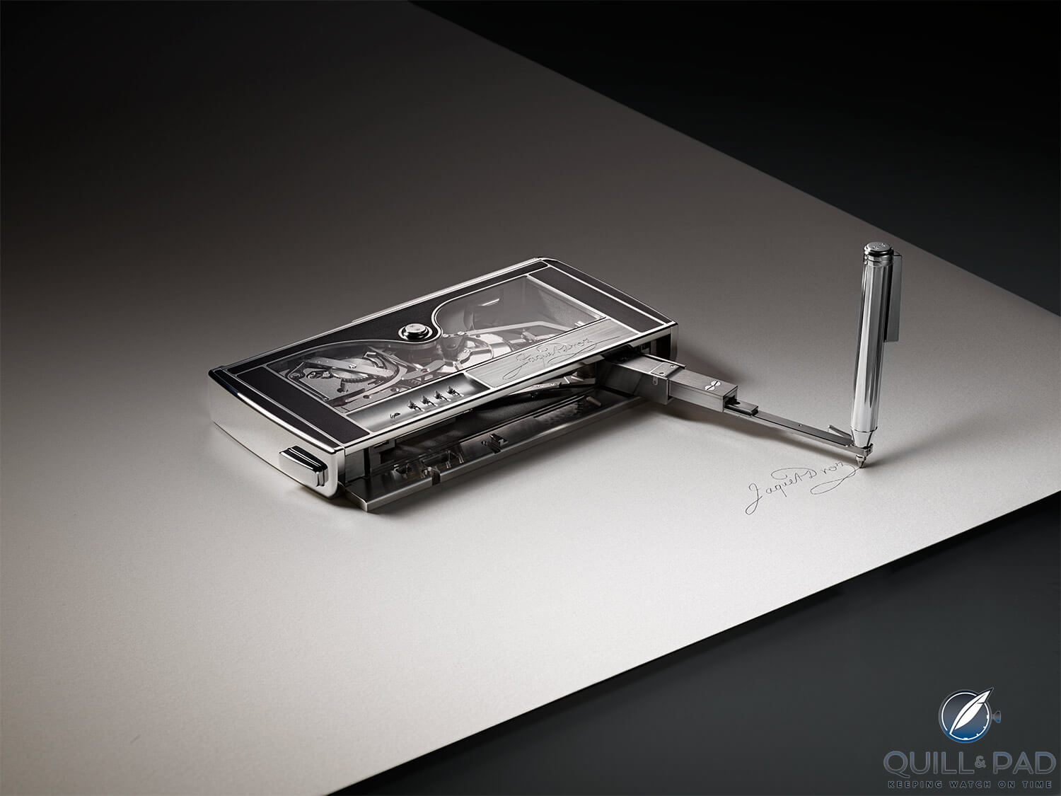 Jaquet Droz Signing Machine