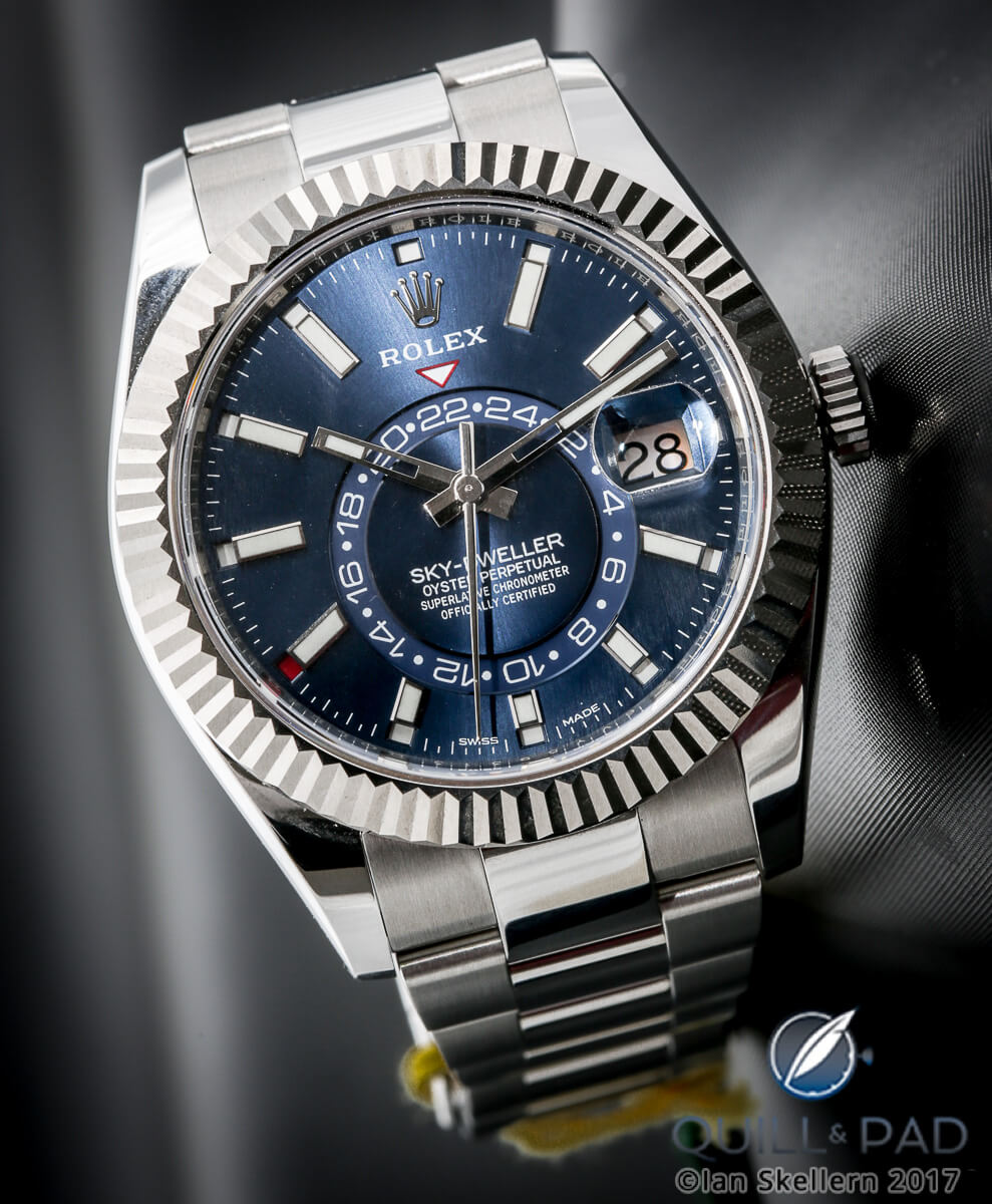 77f1a588a60 Why I Bought It  Rolex Sky-Dweller In Stainless Steel Rolesor ...