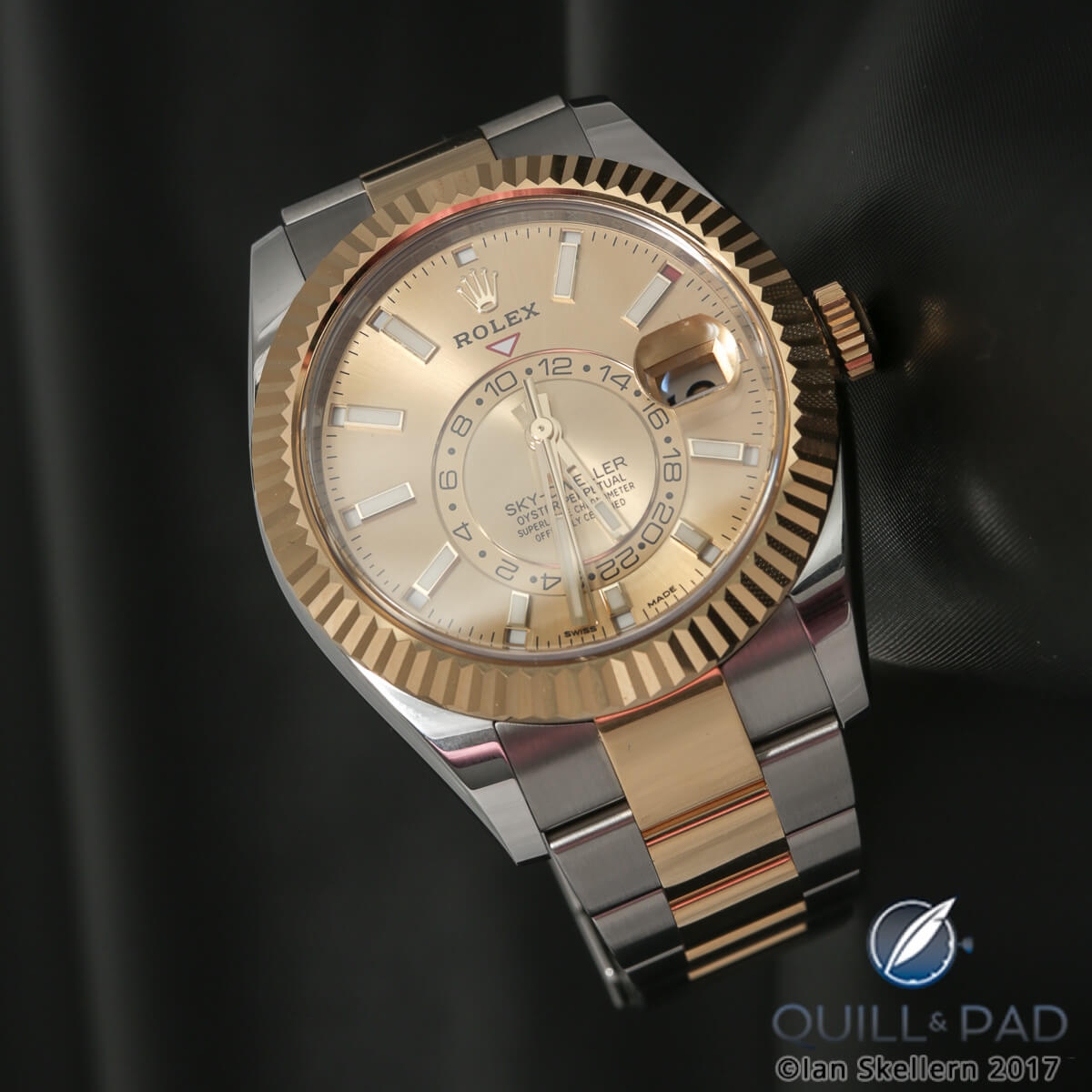 f4dcf5277 Why I Bought It: Rolex Sky-Dweller In Stainless Steel Rolesor ...