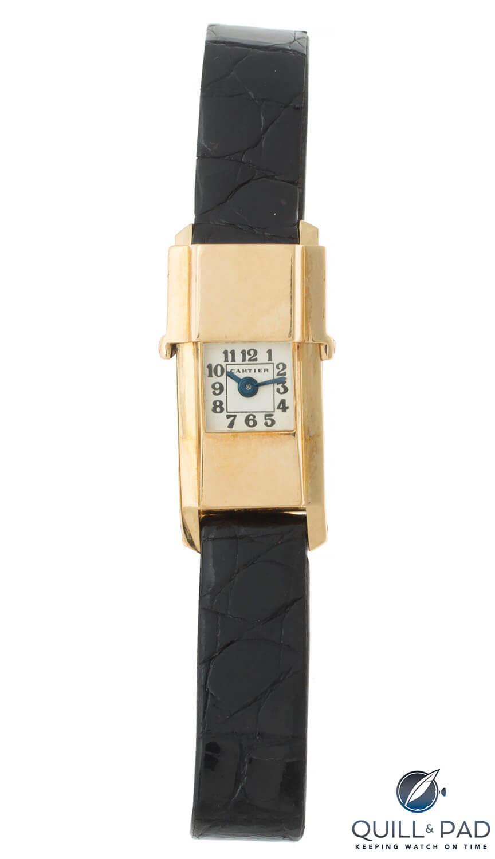 Julien's Auctions Lot 238: Cartier ladies' watch