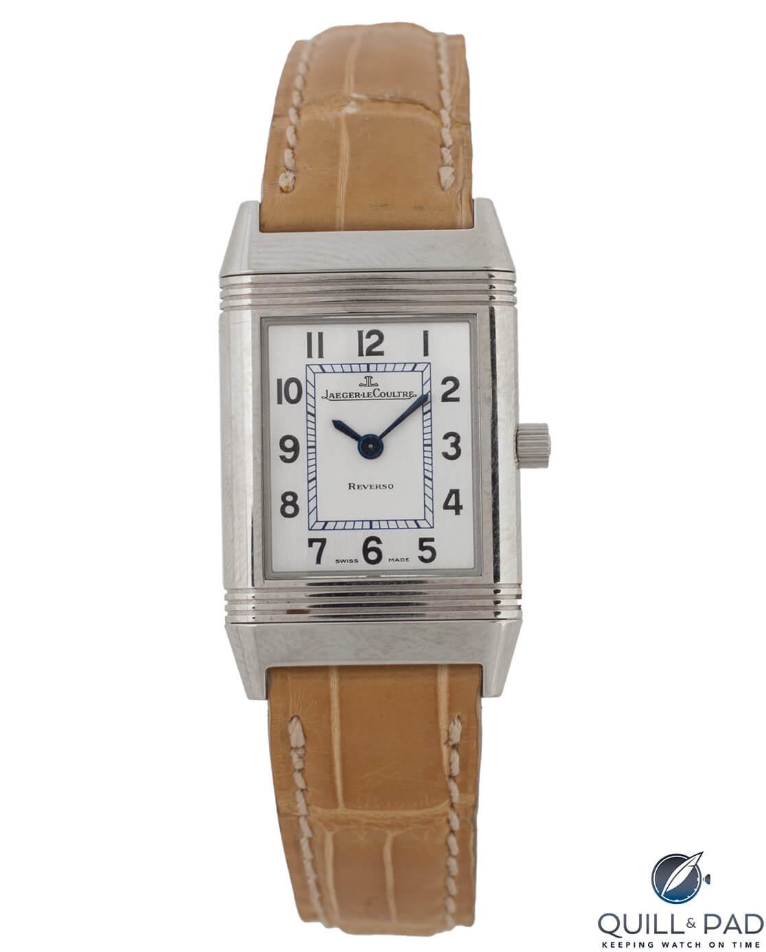 Julien's Auctions Lot 376: Jaeger-LeCoultre Reverso Reference 260808