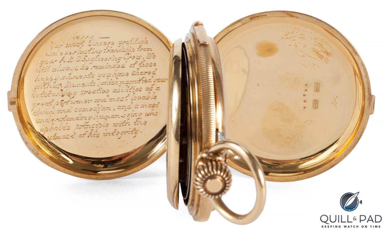Julien's Auctions Lot 395: Patek Philippe pocket watch repeater