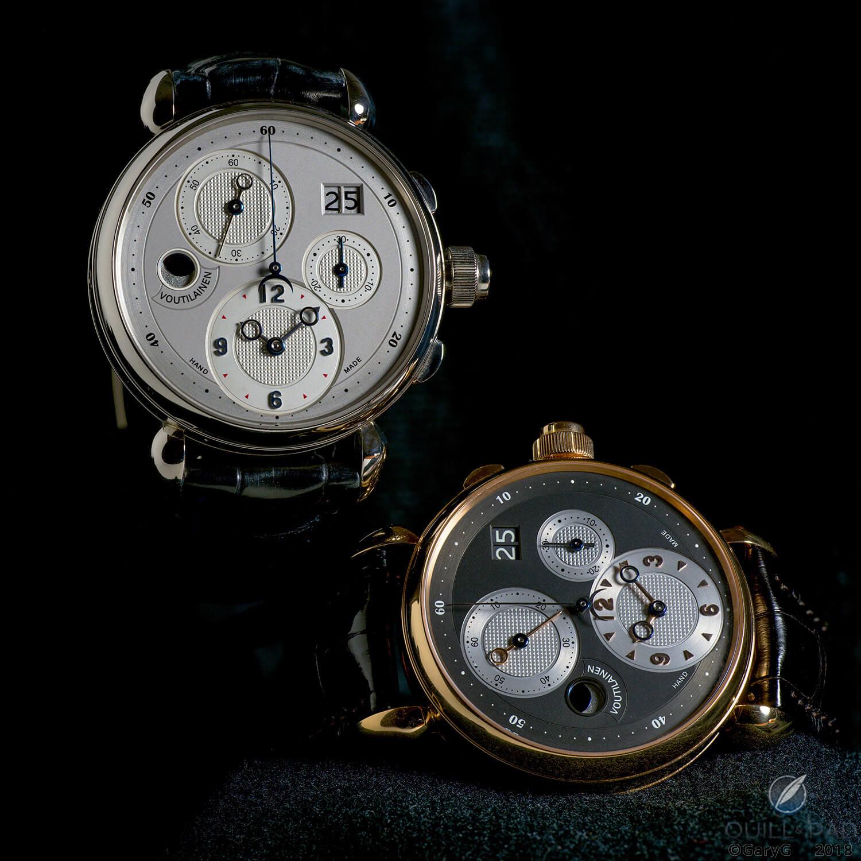 Day and night: two unique Kari Voutilainen chronographs