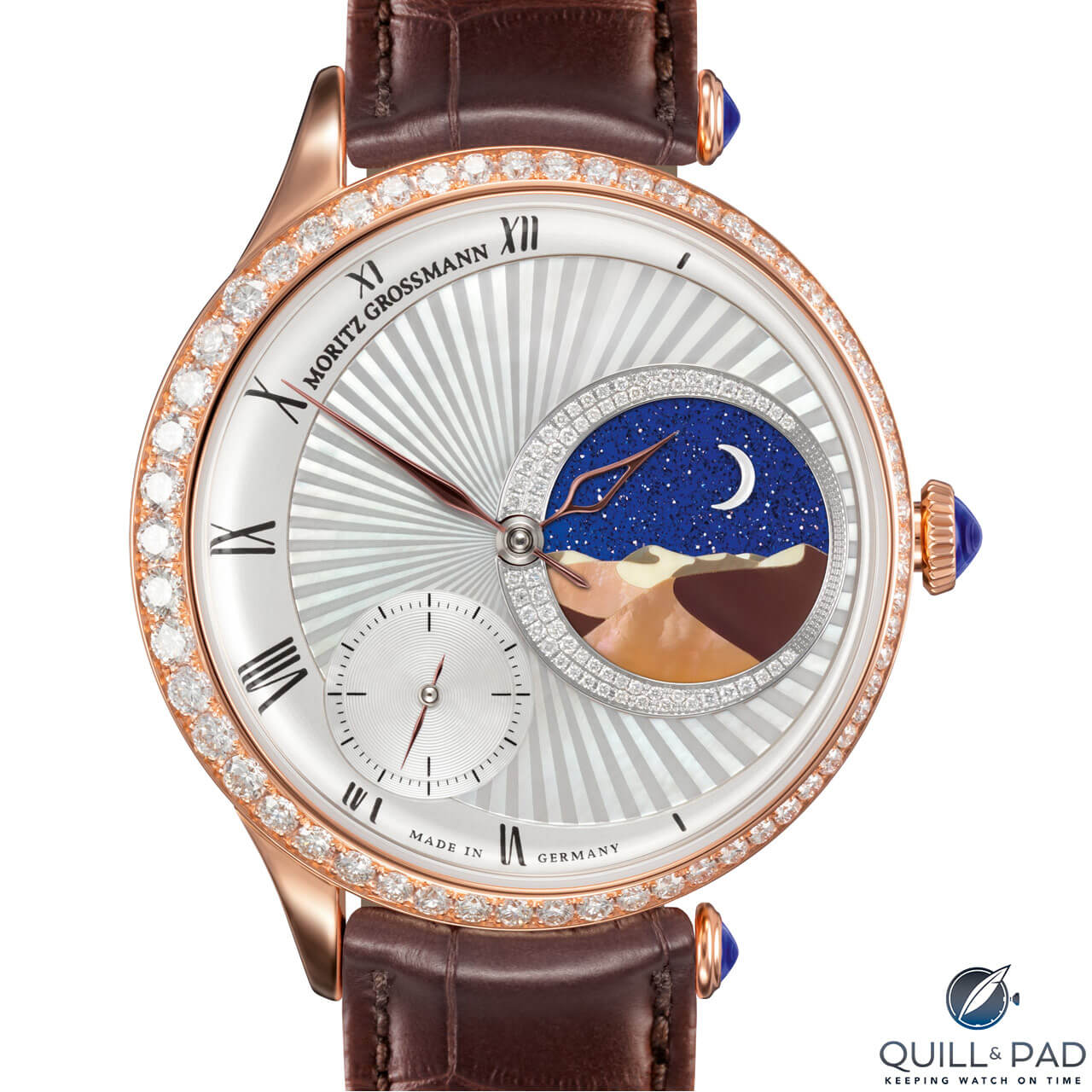 Moritz Grossman Tefnut 1001 in red gold
