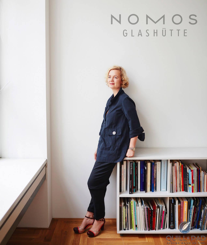Nomos Glashütte Director Judith Borowski