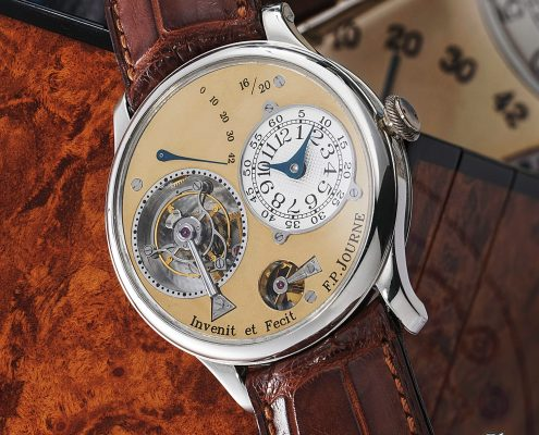 F.P. Journe Tourbillon Souverain Souscription (photo courtesy Phillips auctions)